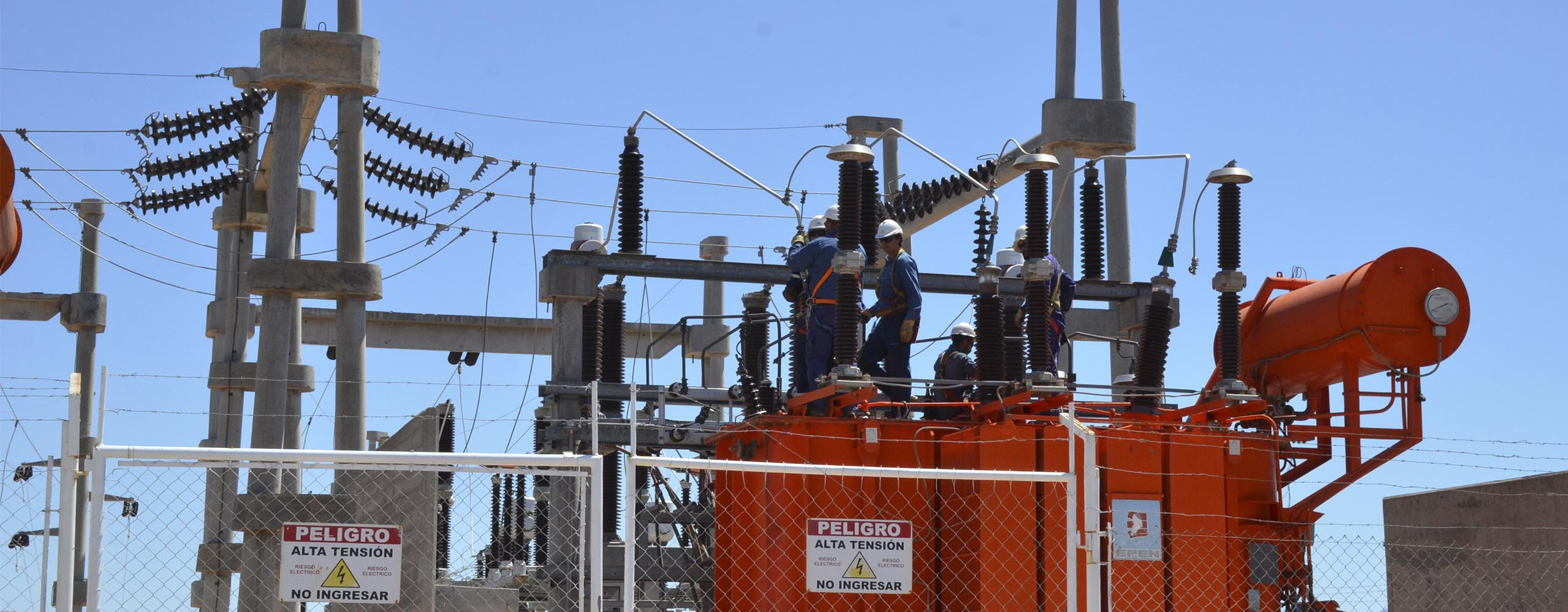 Mantenimiento y corte de energía en Senillosa