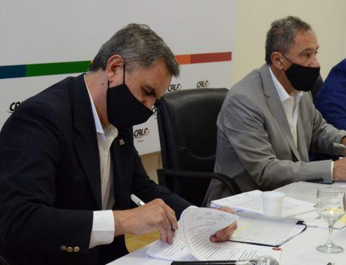 El EPEN y CALF firmaron acuerdos para un mejor servicio