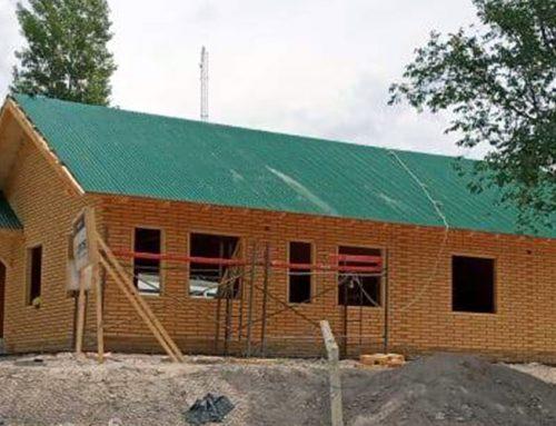 Nuevo edificio del EPEN en Buta Ranquil