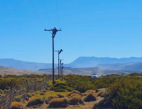 Mantenimiento eléctrico en el norte provincial