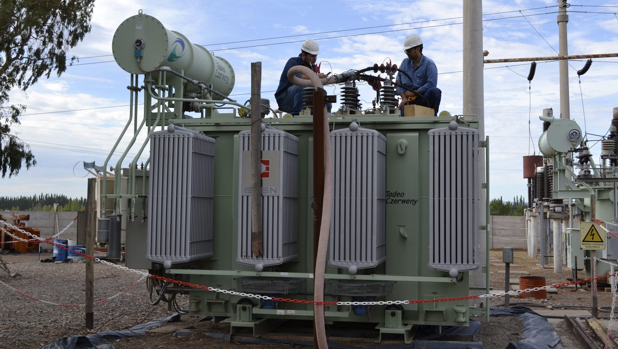 Corte de energía en Plottier